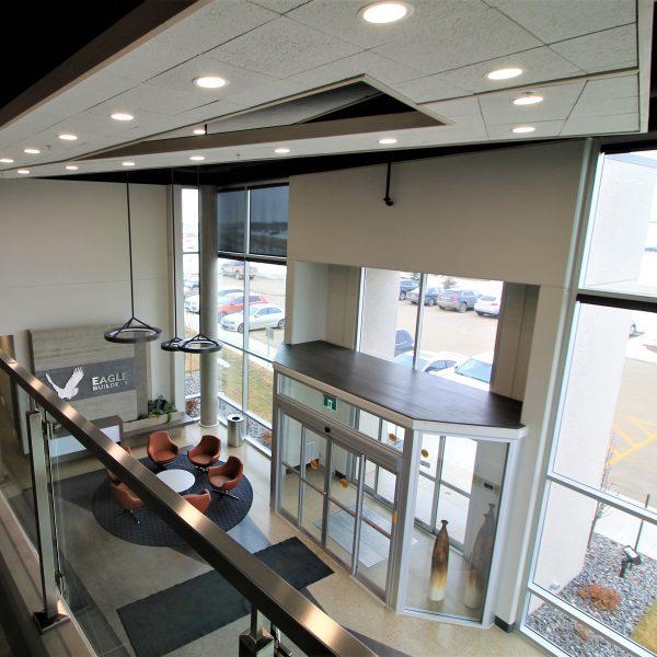 Eagle Builders - Office Foyer